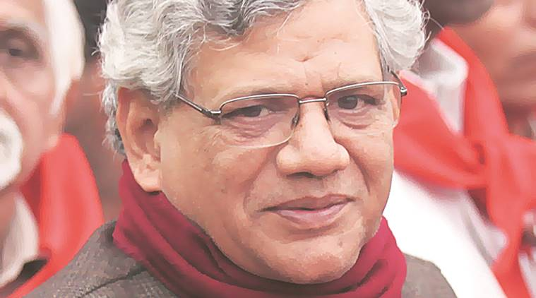 Sitaram Yechury, Nitish Kumar, Grand Alliance, Bihar, Narendra Modi, Presidential Elections, BJP, India news, Indian Express