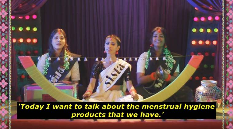 sofia ashraf, world menstrual hygiene day, sofia ashraf latest video, sofia ashraf on menstrual hygiene, sofia ashraf menstrual hygiene latest video viral, indian express, indian express news