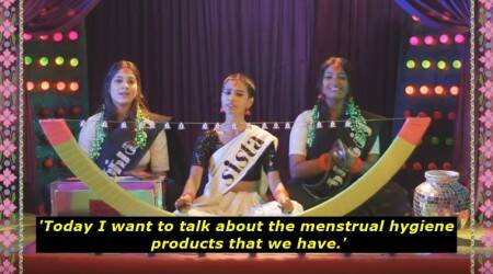 WATCH: Where Sofia Ashraf sings out all you need to know about pads, tampons,etc