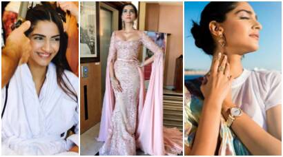 Sonam Kapoor at Cannes 2017: After sporty-cum-spicy saree look, Sonam turns a royal princess for the red carpet