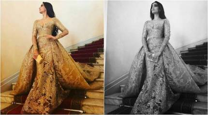 Sonam Kapoor at Cannes 2017: Sonam is bedazzling golden goddess. Is it her best look yet? See photos