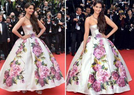 sonam kapoor, sonam kapoor cannes, sonam kapoor cannes red carpet looks, sonam kapoor cannes looks, sonam kapoor pics, sonam kapoor photos, sonam kapoor red carpet looks, sonam kapoor fashion, sonam kapoor ralph and russo, sonam kapoor red carpet pics, sonam kapoor photos, sonam kapoor fashion photos, sonam kapoor style images, bollywood fashion, bollywood style, indian express, indian express news