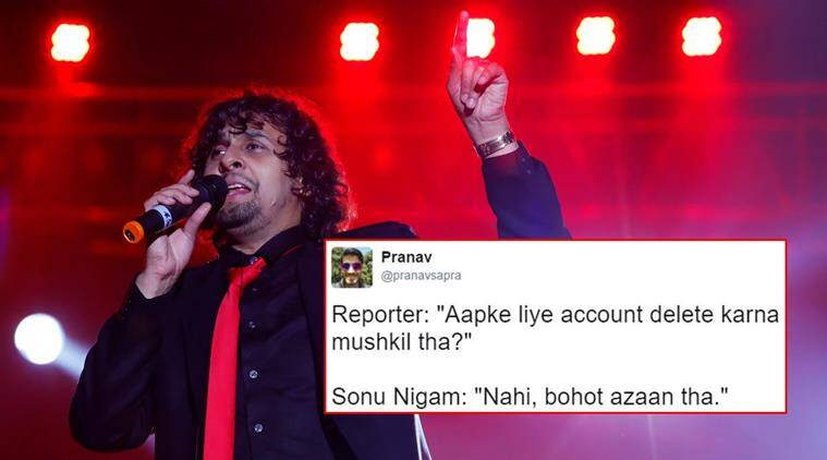 sonu nigam, sonu nigam tweets, sonu nigam controversy, sonu nigam abhijeet debate, sonu nigam quits twitter, sonu nigam 24 reasons to quit twitter, sonu nigam quits twitter reactions, abhijeet bhattacharya reactions, paresh rawal, twitter debate, indian express, indian express news