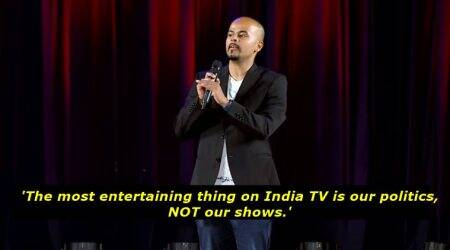 WATCH: Comedian Sorabh Pant thinks politics is the most entertaining thing on IndianTV