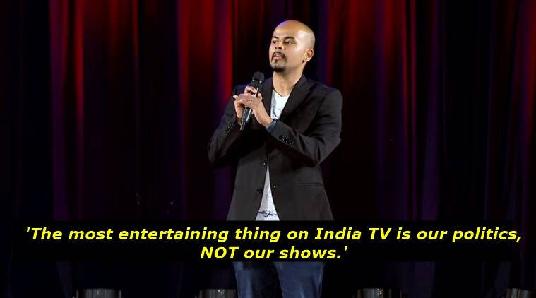 sorabh pant, sorabh pant comedy, sorabh pant east india, sorabh pant latest, sorabh pant on indian television, sorabh indian television politics, sorabh pant indian politics on indian tv, indian express, indian express news