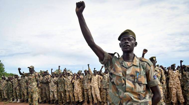 South Sudan, SPLA, Sudan People's Liberation Army, Indian Express News