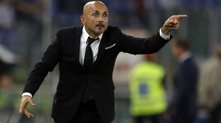 Inter Milan, Roma, Luciano Spalletti, Serie A, Eusebio Di Francesco, Champions League, Jim Pallotta, sports news, football news, indian express