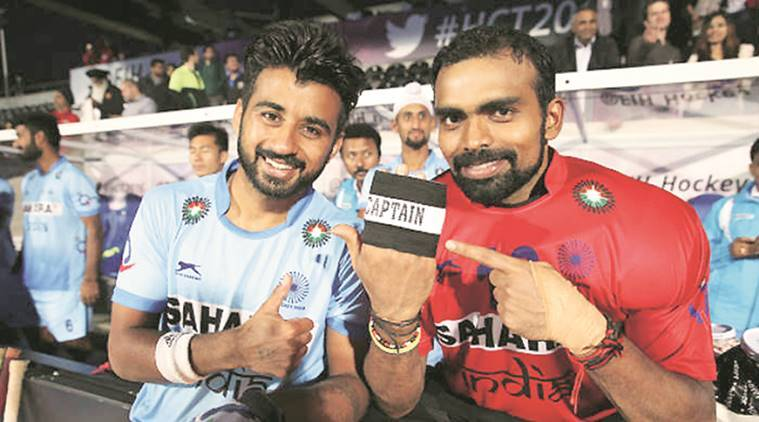 PR Sreejesh, World Cup, Vikas Dahiya, World League semis, Sreejesh knee injury, Azlan Shah Cup, sports news, hockey news, indian express
