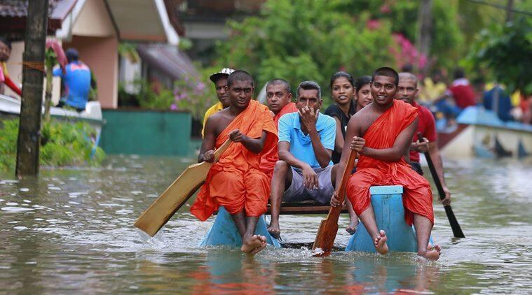 Sri lanka, Sri lanka floods, sri lanka landslide, sri lanka mudslides, lanka floods, indian navy, india sends aid to help to sri lanka, Indian express, Sri Lanka news, World news