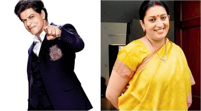 Shah Rukh Khan reveals mind-blowing fact about Smriti Irani's step-daughter