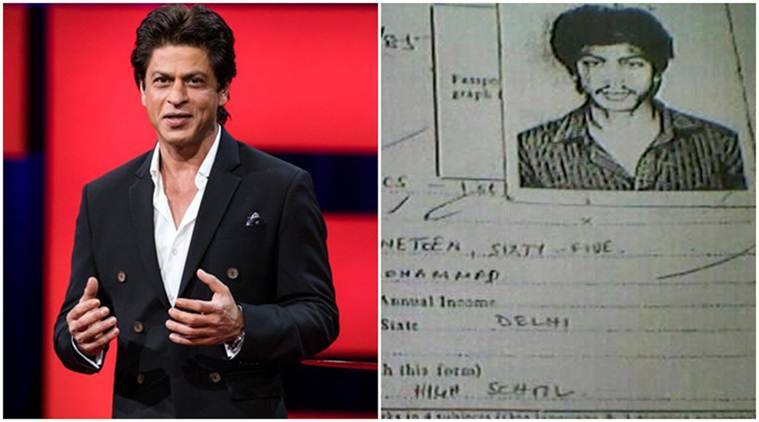 Shah Rukh Khan, Shah Rukh Khan actor, Shah Rukh Khan news, Hans Raj admission form, shahrukh khan, srk news, entertainment news, indian express, indian express news