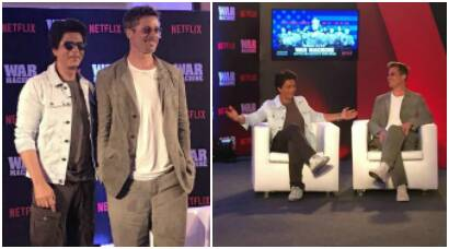 Brad Pitt and Shah Rukh Khan are together in Mumbai and we can't stay calm. See photos