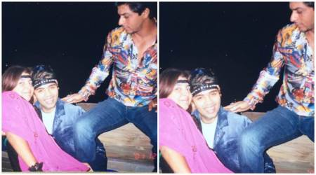 Shah Rukh Khan, Karan Johar, Farah Khan's embarrassing party photo is our pic alert for the day. See it here