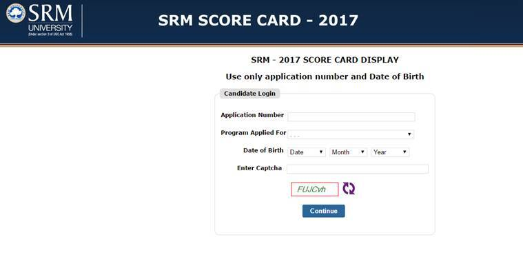 srmuniv.ac.in, srmjeee 2017, srm results, srmjeee results 2017, srm university results, srm news, education news, indian express