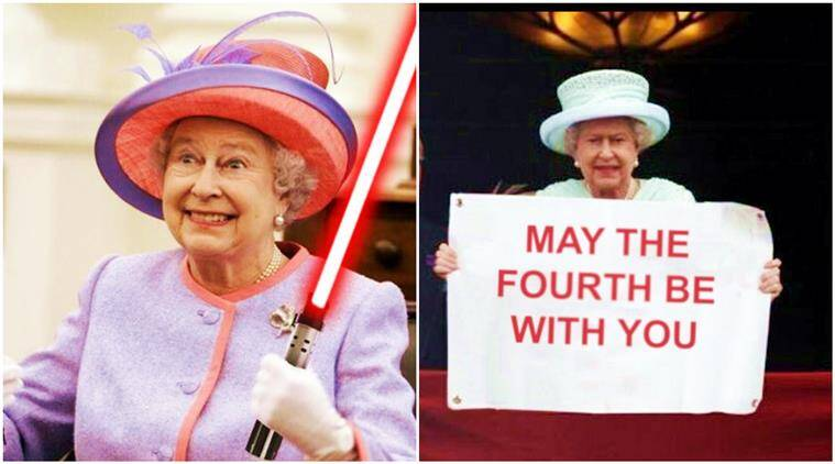 May the fourth be with you': Star Wars Day sets off with
