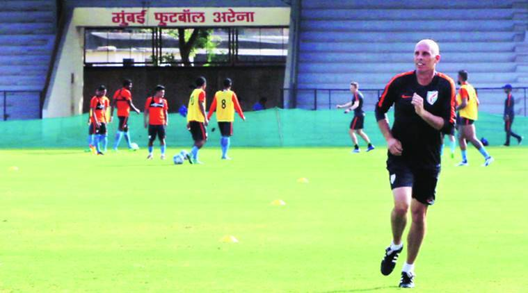 Stephen Constantine, Indian football coach Stephen Constantine, Indian football, Sunil Chettri injury, Federartion Cup, Bengaluru FC, AFC Challenge Cup, Indian football coach on Sunil Chettri's injury, football news, indian express news