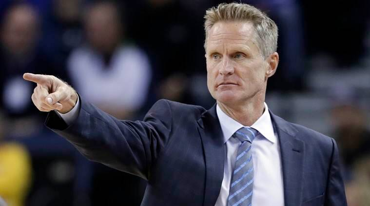 Golden State Warriors, Golden State Warriors news, Steve Kerr, Steve Kerr Golden State Warriors, NBA Finals, NBA Finals schedule, sports news, sports, Indian Express