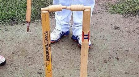 rare dismissal, Jatinder Singh, Jatinder Singh dismissal, Moonee Valley, Mid Year Cricket Association, cricket, sports news, Indian Express