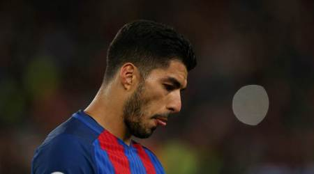 luis suarez, suarez, barcelona, barca, copa del rey final, la liga, alaves, football, sports news, indian express