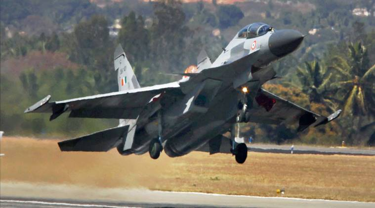 Image result for Wreckage of IAF's missing Sukhoi-30 jet found; no information on pilots,