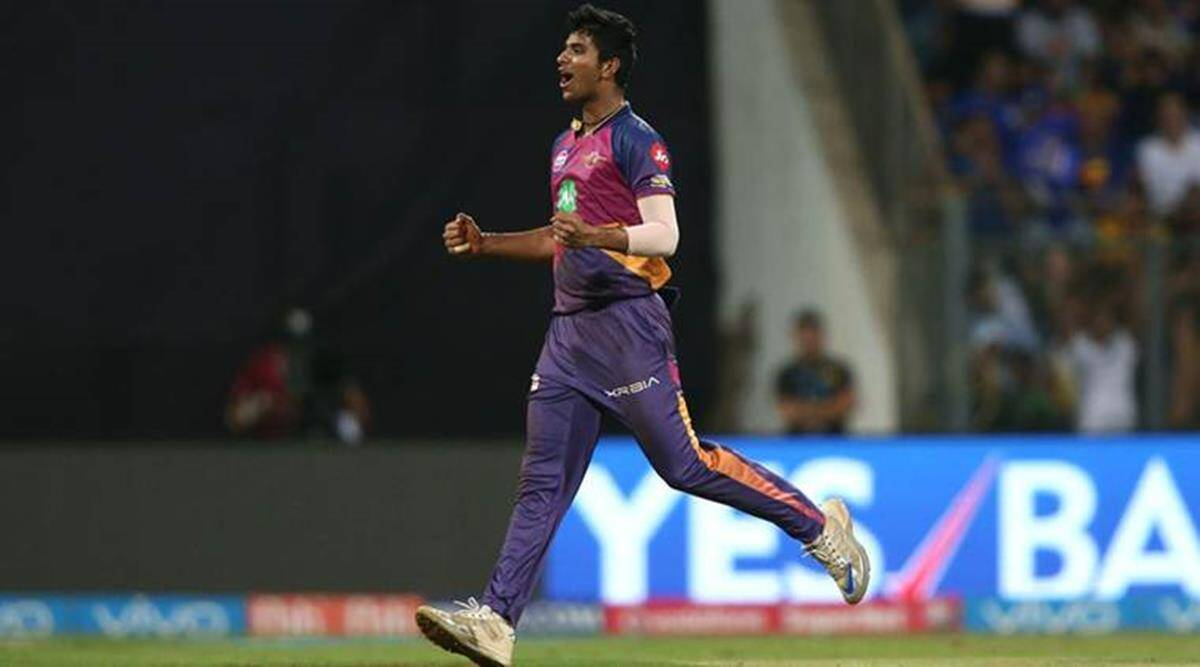 Washington Sundar S Father Reveals Origin Of Rps Spinner S Name Sports News The Indian Express