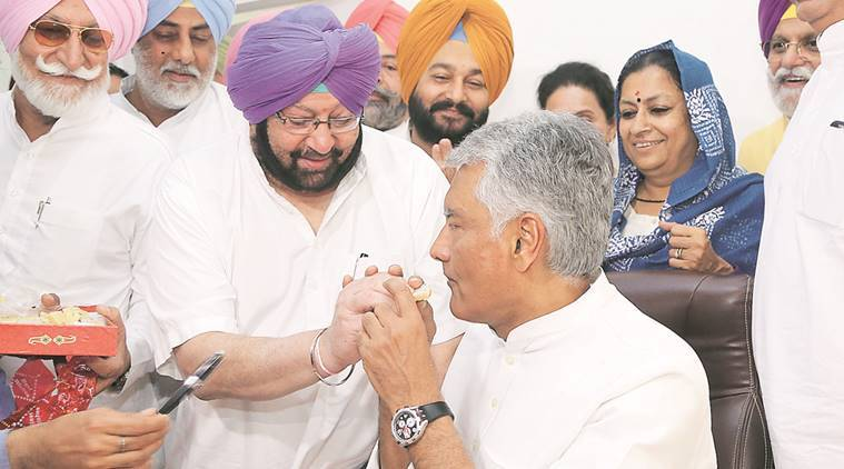 Sunil Kumar Jakhar, jhakar, congress, congress chief, jhakar congress, amarinder singh, indian express news, india news