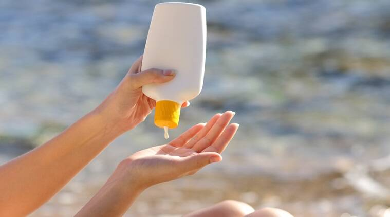 skin care, tips to take care of skin during summer, disadvantage of using a sunscreen, indian express, indian express news