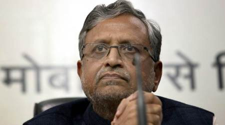 Sushil Modi fires corruption salvo against Rabri Devi