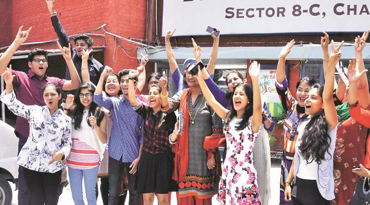 CBSE news, CBSE XII results, CBSE exam results, CBSE Punjab, CBSE chandigarh, CBSE poor students, Indian express news, India news