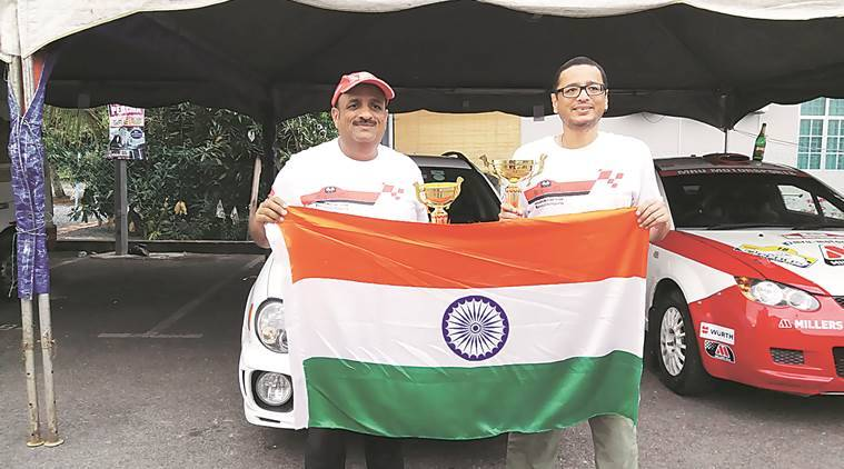 Sanjay Takale, Malaysian Rally, Malaysian Rally Championship, Rally of Perlis,  Rally of Perlis pune, pune, latest news, indian express