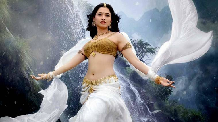 Tamannaah, SS Rajamouli, Baahubali 2, Baahubali 2 Tamannaah, Tamannaah baahubali 2, SS Rajamouli Tamannaah, Tamannaah SS Rajamouli,  Tamannaah images, Tamannaah pics, entertainment news, indian express, indian express news