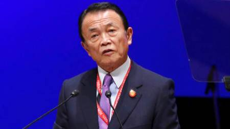 Japan's PM Taro Aso retracts Hitler comment after criticism