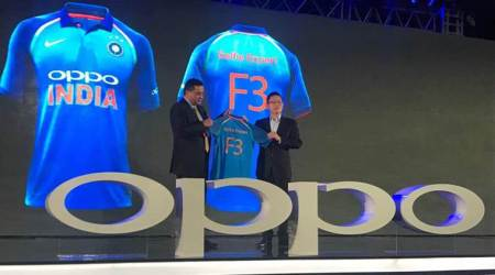 Indian cricket team's new jersey unveiled, see pics