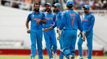 Before rain, India bowlers reign in warm-up