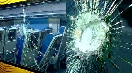 Windows of Tejas Express damaged ahead of maiden journey