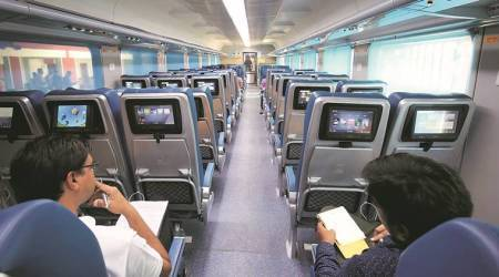 First Tejas train to run on May22