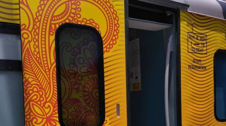 First Tejas train to run on May 22
