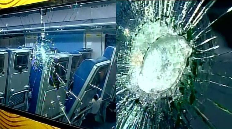 Image result for tejas express damaged by passengers