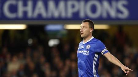 John Terry, Terry, Antonio Conte, Conte, Chelsea, Chelsea captain, John Terry retirement, Terry retire, Football, sports news, Indian Express