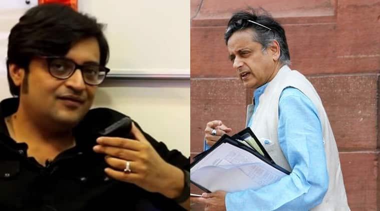 Arnab Goswami, Shashi Tharoor, tharoor arnab Goswami, defamation case Arnab Goswami, Republic tv, Sunanda Pushkar, Sunanda Pushkar death, tharoor wife death, latest news, india news, Indian Express