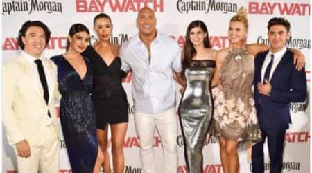 Dwayne Johnson, Priyanka Chopra, Baywatch, Baywatch Team, Priyanka Chopra Baywatch