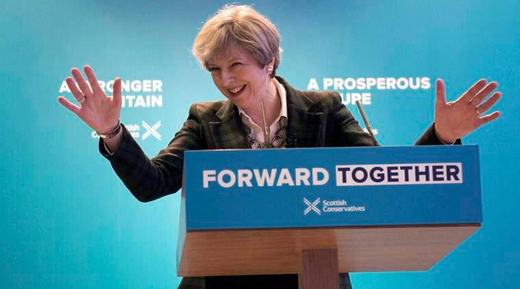Theresa May, Theresa May UK, UK elections, early elections, Labour Party, Conservative Party, Britain, brexit, EU, european union, hard brexit, UK early election, theresa may early elections, latest news, latest world news