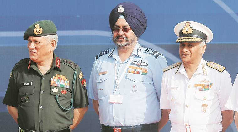 army, air force, navy, indian defence services, indian defence services-joint theatre commands, integrated theatre commands, manohar parrikar, indian army, indian defence, indian express