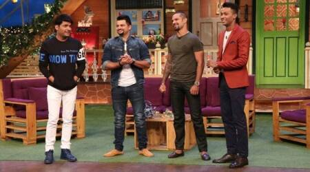 The Kapil Sharma Show leaves cricketers Suresh Raina, Shikhar Dhawan and Hardik Pandya in splits, but where are the ratings? See photos
