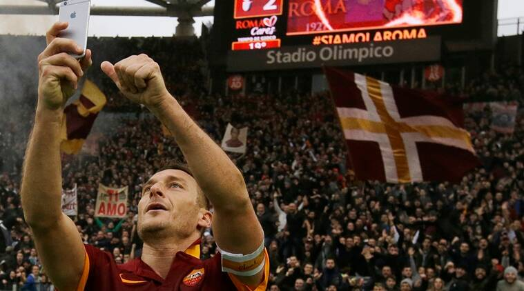 francesco totti, stepher gerrard, totti, gerrard, as roma, totti retirement, liverpool, serie a, football, sports news, indian express