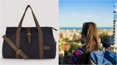 fashion, fashion and travel, travel tips, bag and travelling, bag to carry, travelling bag, bag pack up, things to carry in duffel bag, duffel bag, indian express, indian express news