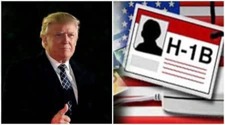 H-1B limits, Donald Trump H-1B, US President Trump H-1B, US President Donald Trump H-1B, World News, Latest World News, Indian Express, Indian Express News