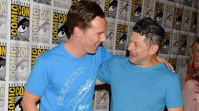 Andy Serkis, Benedict Cumberbatch, Benedict Cumberbatch Shere Khan, Andy Serkis The Jungle Book,