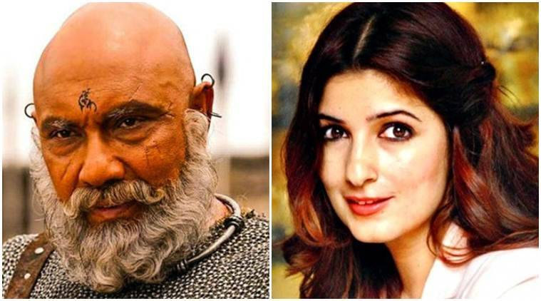 Twinkle Khanna's error of Baahubali proportions: Assumes Sathyaraj's son played Katappa