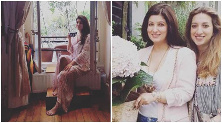 Twinkle Khanna, Twinkle Khanna vacation, Twinkle Khanna paris, Twinkle Khanna paris vacation photos